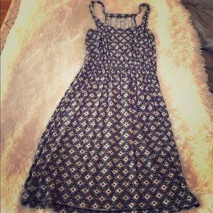 Old Navy black / white pattern coverup dress - XS